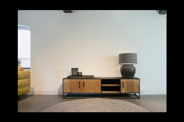 STEEL TV meubel 200 x 40 x 50 cm
