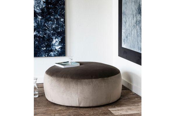 Paradiso Pouf rond (diameter 49 x hoogte 46cm)