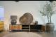 STEEL TV meubel 240 x 40 x 50 cm