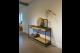 STEEL Side Table 140 x 40 x 78 cm