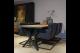 STEEL dining table 225 x 100 x 76 cm