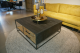 STEEL Coffee Table met 2 lades 100 x 100 x 40 cm