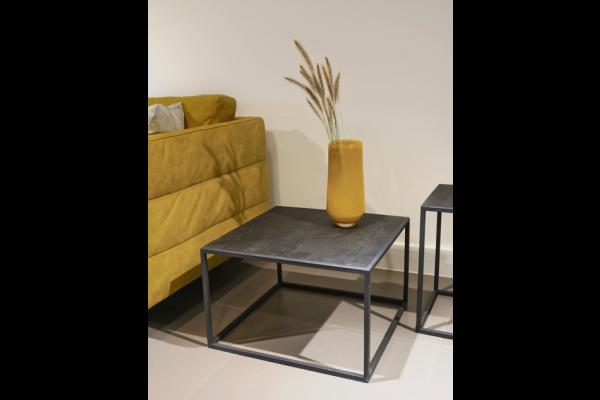 STEEL Sidetable Koeno/Black 55 x 55 x 35 cm