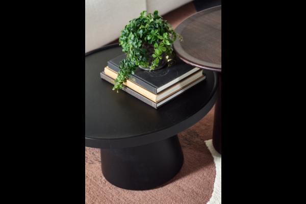 Coffe Table Black 66 rond 41 cm hoog