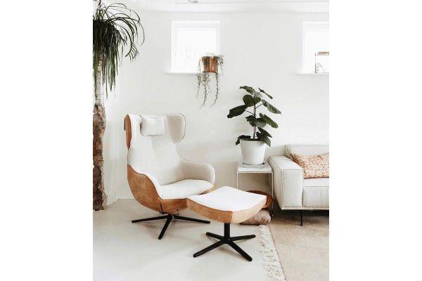 Cubic fauteuil met hoge rugleuning