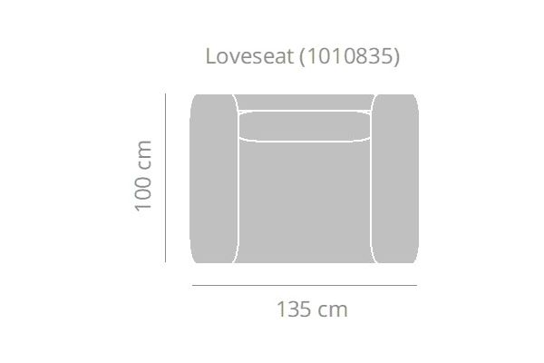 Bella Milano - Loveseat (134B cm)
