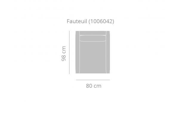 Haveli Dreams - Fauteuil zonder armleuning