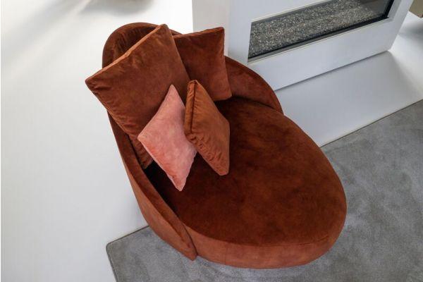 Paradiso ovaal fauteuil (115x95x150 cm)